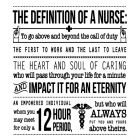 Definition of a Nurse