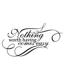 Nothing Worth Having