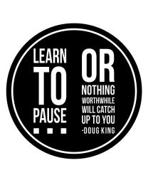 Learn to Pause
